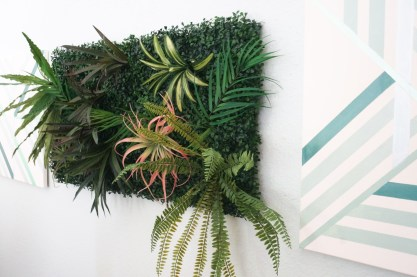 Faux-living-wall-on-display