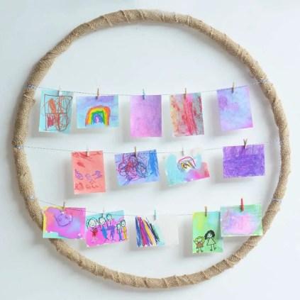 Hula-hoop-picture-frame-