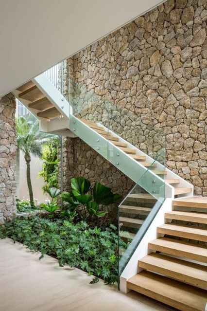 A-mini-indoor-garden-under-the-stairs-is-a-gorgeous-refreshing-feature-to-bring-some-outdoors-inside