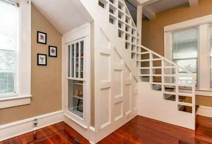 Craftsman-under-stairs-display-storage