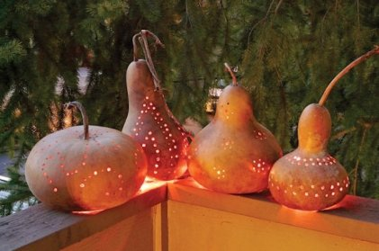 Gourd-lanterns