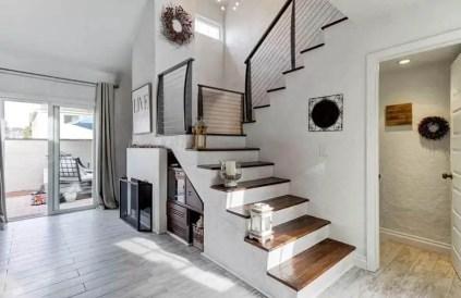 Under-stairs-niche-storage-area