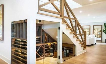 Under-stairs-wine-cellar