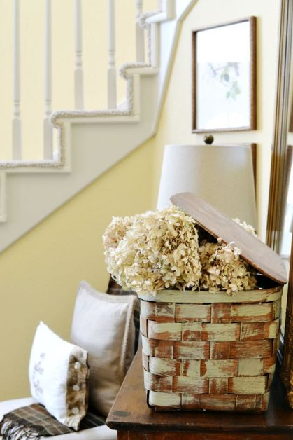 Vintage-picnic-basket-with-dried-hydrangeas-atthepicketfence.com_