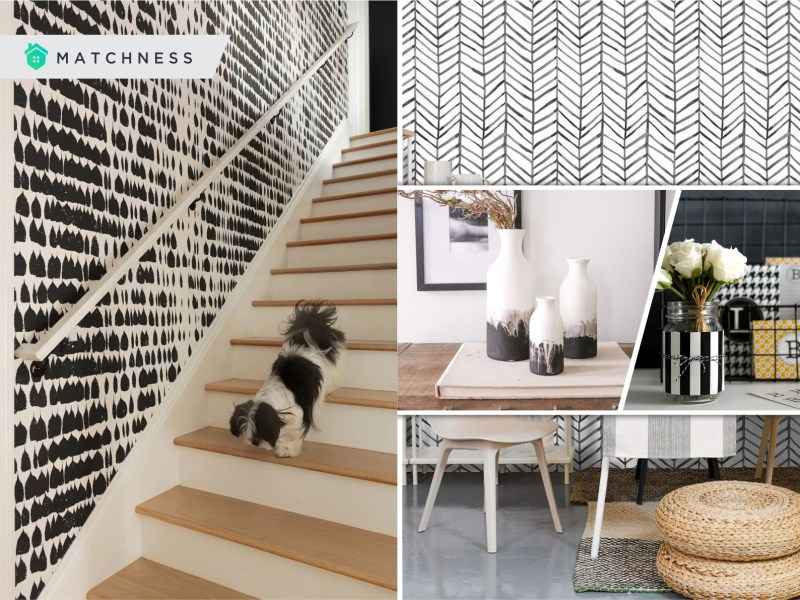 20 black and white diy home decorations2