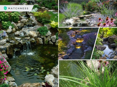 40 artificial river ideas for a calming yard atmosphere2