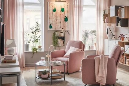 45-blush-pink-living-room-ideas-trendy-color-scheme-for-modern-interiors