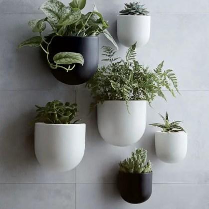 Keramik-Wandbild-Pflanzgefäße