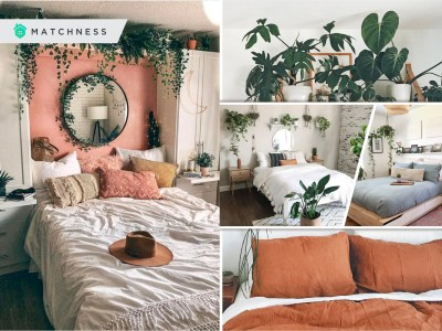 Decorate your bedroom with some indoor plants2