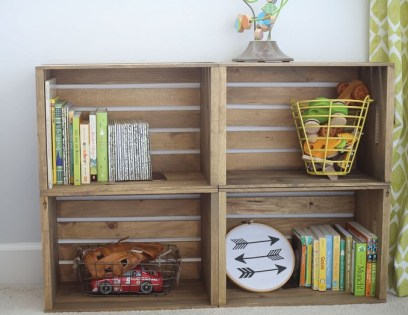 Wooden-crates-for-nursery-storage-and-bookshelf-2