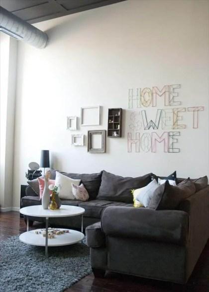 Garn-Wand-Kunst