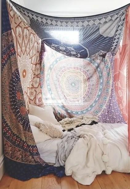 Beeindruckende-böhmische-Wandteppich-Schlafzimmer-Designs