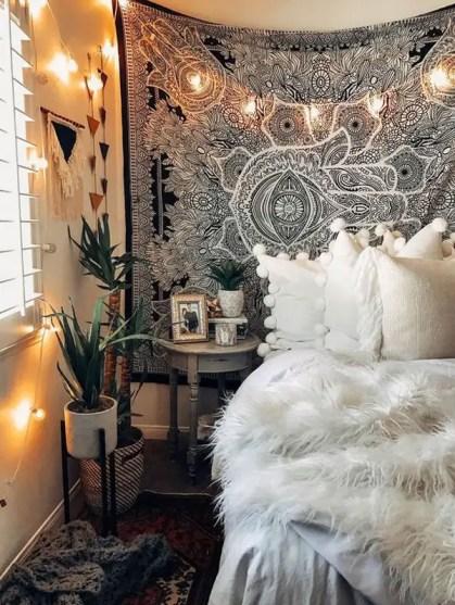 Trendige-Wandteppich-Schlafzimmer-Stile