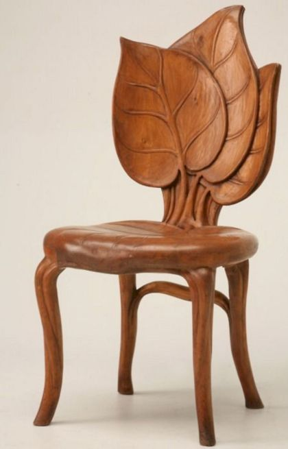 Antik-Jugendstil-Stuhl
