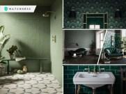 Green room designs