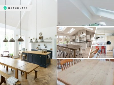 Kitchen decoration with open airy designs