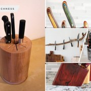 Unique knife stand references