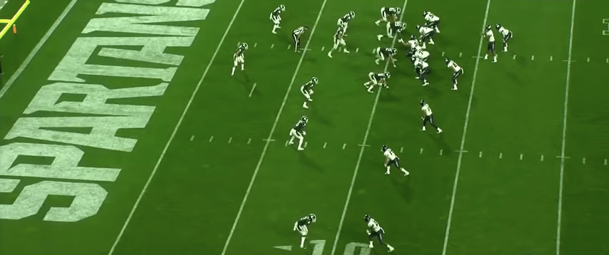 MQ Film Study: Defending Unbalanced Trips (2018 Michigan State)