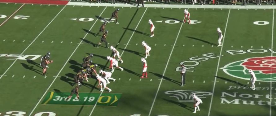 3rd Down Study: Wisconsin vs Oregon (2020 Rose Bowl)