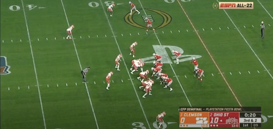 MQ Pressure Tape: Clemson vs Ohio St. (2019)