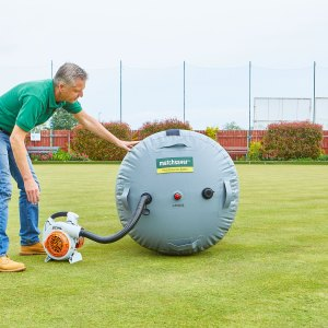 Matchsaver air roller pitch cover protect many sports surfaces