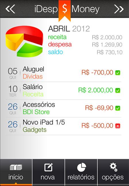 Aplikasi Keuangan Pribadi Excel : aplikasi, keuangan, pribadi, excel, 🎖▷, Aplikasi, IDesp, Money, Membantu, Melacak, Pengeluaran, Pribadi, Langsung, IPhone, Touch