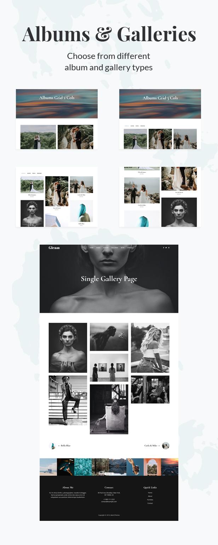 Gleam - Portfolio Photography WordPress Theme - 2