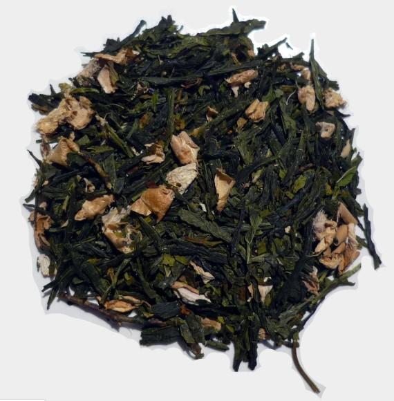 Peppermint Ginger Green Tea 1