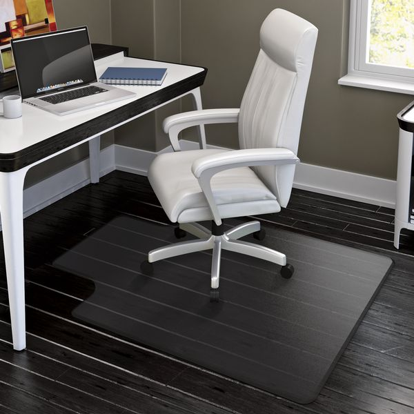 clear chair mat vinyl rocking chairs hard floor mats, mats and desk for smooth surfaces by depot : ...