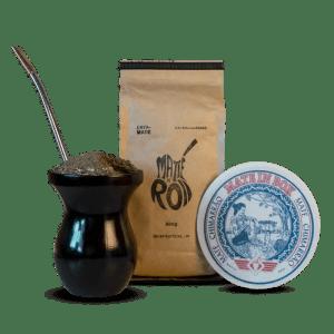 Matte N' Roll, Cuia de Madeira e Cevador Colecionável