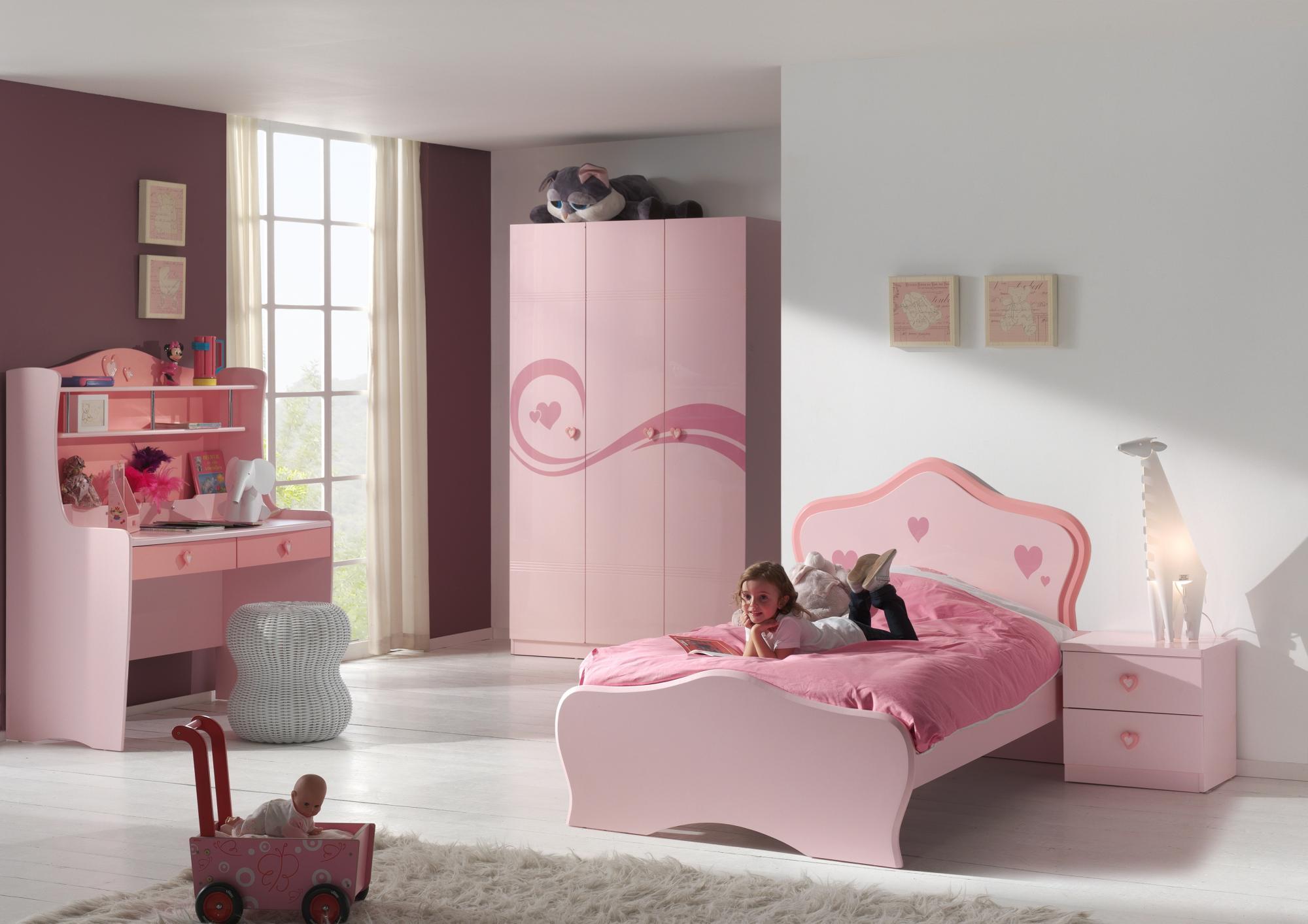 Chambre Petite Fille Complete   Chambre Fille Rose Et Vert