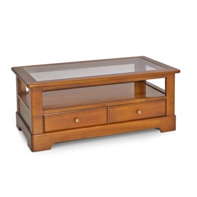 Table basse Symphonie plateau verre  Tables basses  Tables  Meuble