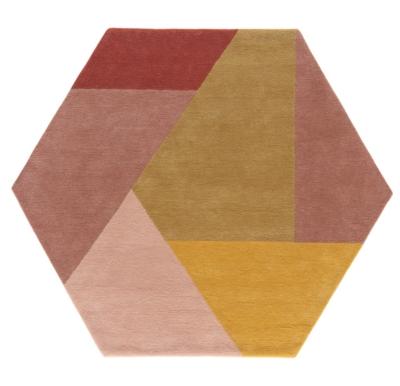 tapis hexa toulemonde bochart poudre
