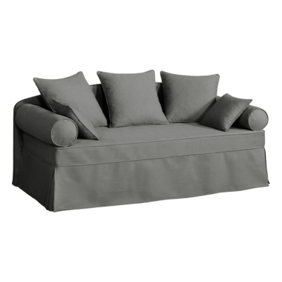 canape lit gigogne tissu coton dehoussable hermitage
