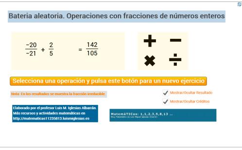 Actividades-Aleatorias-Fracciones-con-Enteros-LuisMIglesias