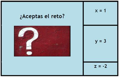 Mensaje secreto. Valor numérico de expresiones algebraicas #Gamificación #FlippedClassroom