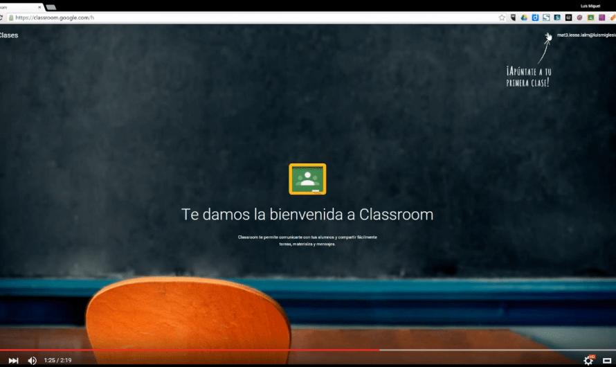 Apuntarte/Unirte a una clase en Google Classroom #GoogleApps #GAEDU