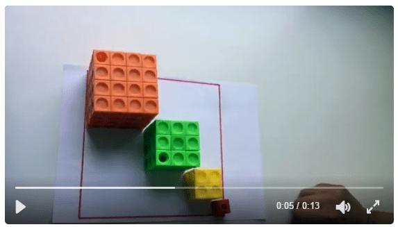 miniTAREA. Cubos y cuadrados, parientes cercanos.