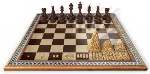 Leyenda del tablero de ajedrez y los granos de trigo