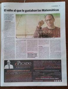 Entrevista Diario HOY