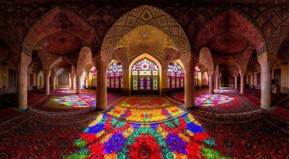 Nasir al-Mulk mosque pnorama