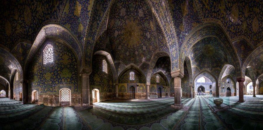 Shah(Emam) mosque panorama