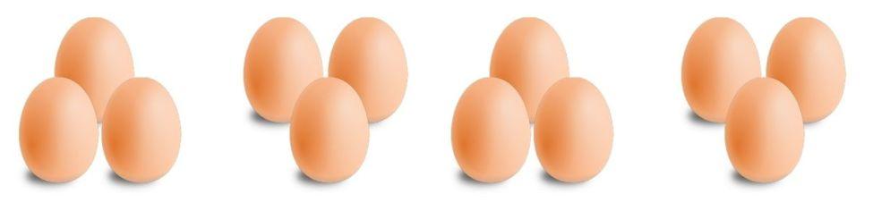 docenas de huevos por qu no decenas