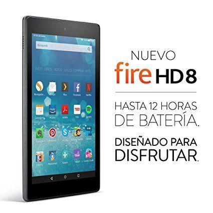 NUEVO fire HD8 Diseñado para disfrutar
