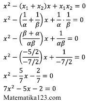 Rumus Persamaan Kuadrat Baru : rumus, persamaan, kuadrat, Contoh, Menyusun, Persamaan, Kuadrat, Matematika