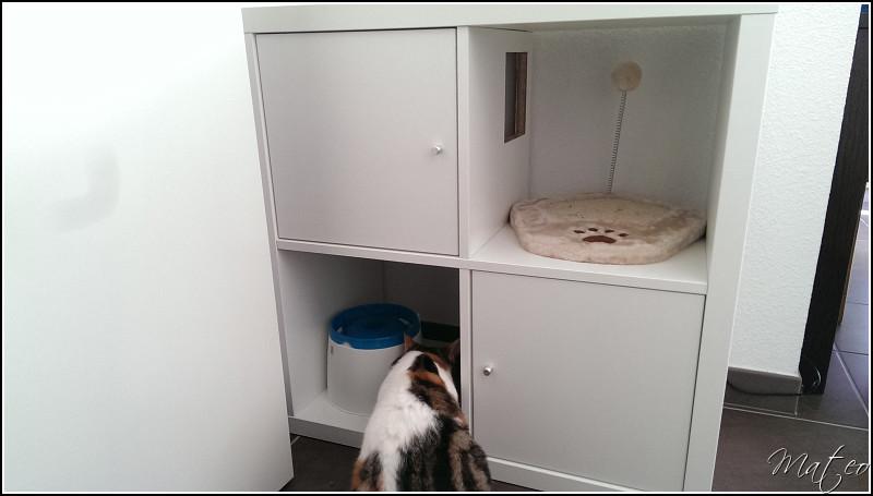 Cration dun meuble amnag pour chat  Matechniquefr