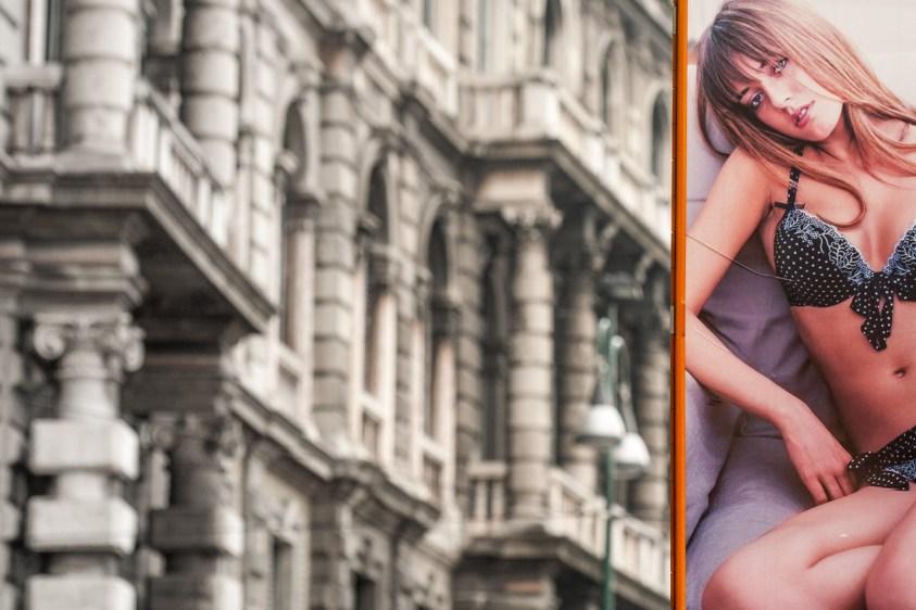 Publicidad en Milán. © mateoht 1990-2013 - http://lafotodeldia.net