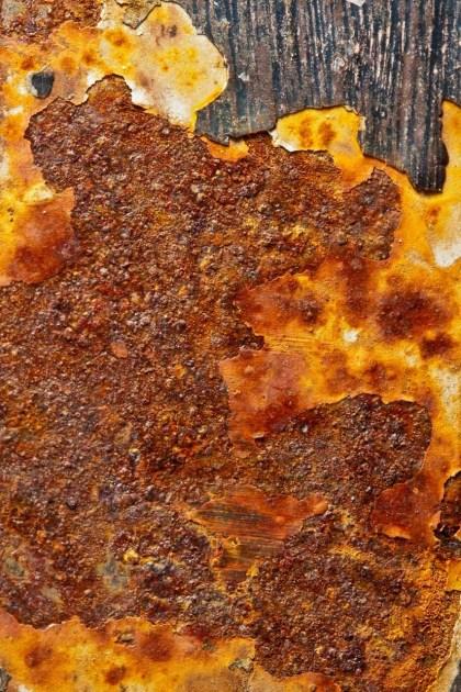 Metal oxidado. © mateoht 1990-2013 - http://lafotodeldia.net
