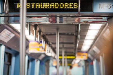Interior del Metro, Lisboa. © mateoht 1990-2013 - http://lafotodeldia.net