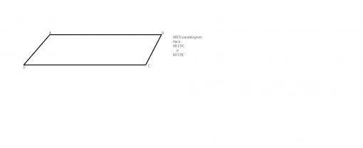 paralelogramul Conditia ca sa fie paralelogram